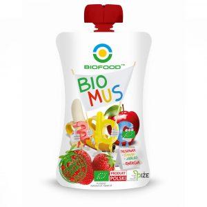 BIOFOOD Bio mus ABC trusk/banan/jabl 90g