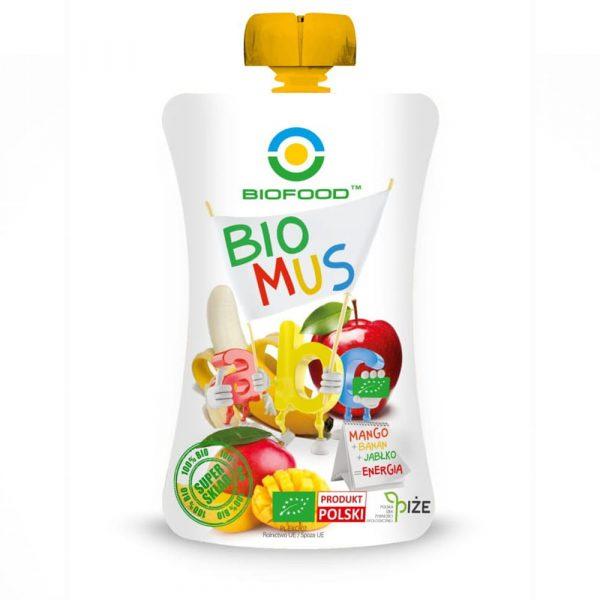 BIOFOOD Bio mus ABC mango banan jablko 90g