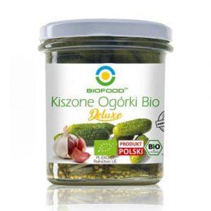 BIOFOOD Ogórki kiszone 320g BIO