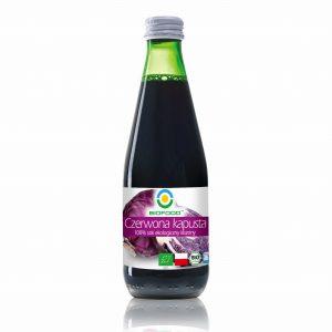 Sok z kiszonej czerwonej kapusty ekologiczny 0,3 l Bio Food
