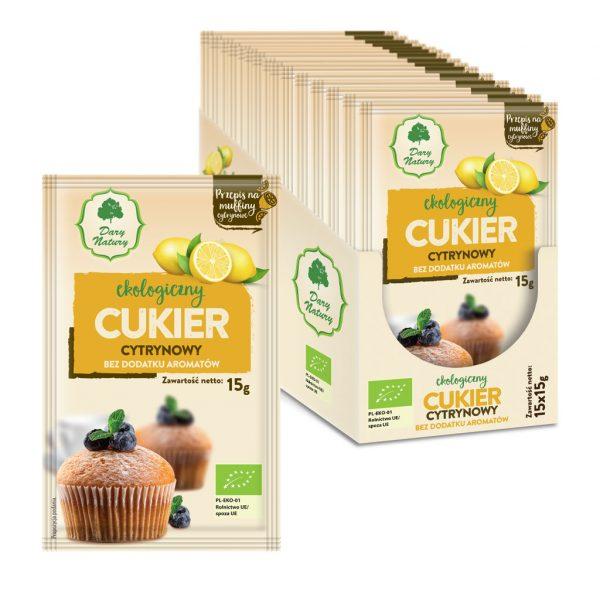 Dary Natury Cukier cytrynowy 15g EKO