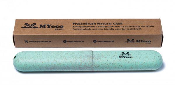 MyEcoBrush Etui na szczoteczkę zielone