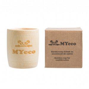 MyEcoBrush Kubek bambusowy