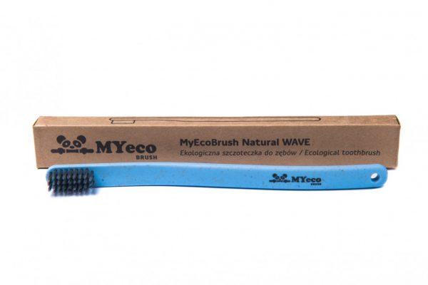 MyEcoBrush Szczoteczka WAVE niebieska
