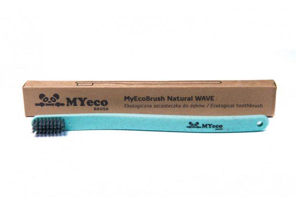 MyEcoBrush Szczoteczka WAVE zielona