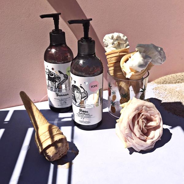 Yope Żel pod prysznic Róża+kadzidłowiec 400ml
