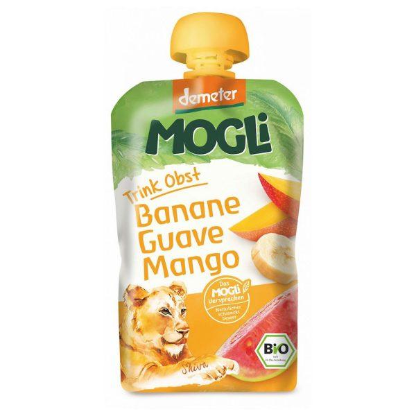 Mogli Przecier banan z guawą i mango 100g BIO