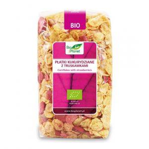 Bio Planet Płatki kukur. z truskaw.250g BIO