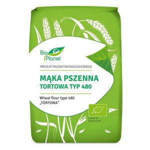 Bio Planet Mąka pszenna tortowa typ 480 1kg BIO