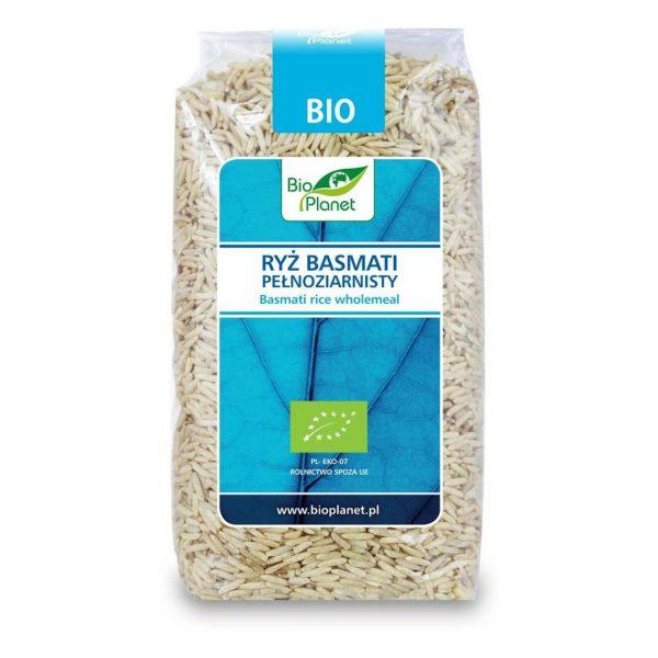 Bio Planet Ryż Basmati pełnoziar. 500g BIO