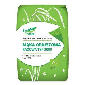 Bio Planet Mąka orkiszowa razowa typ 2000 1kg BIO