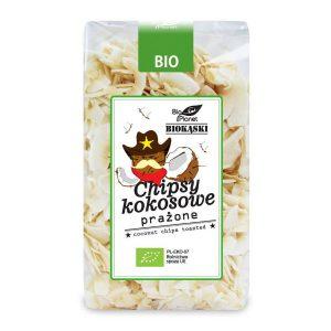 Bio Planet Chipsy kokosowe prażone 150 g BIO