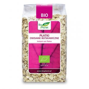 Bio Planet Płatki owsiane błyskaw. 300g BIO