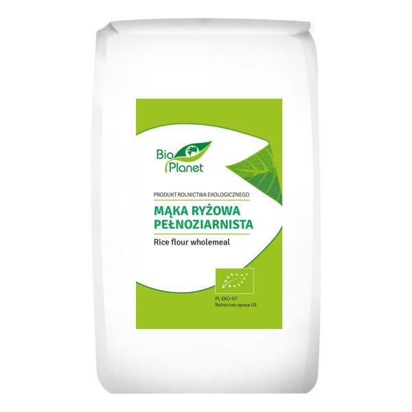Bio Planet Mąka ryżowa pełnoziar. 500g BIO