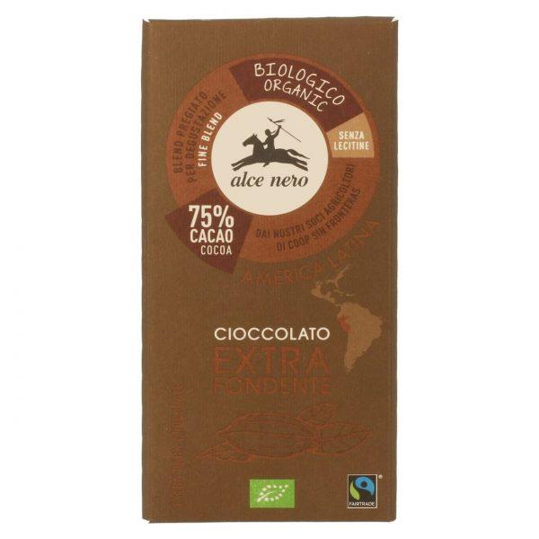 Fair Trade Czekolada gorzka bezglutenowa 100g BIO