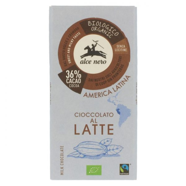 Fair Trade Czekolada mleczna 100g BIO