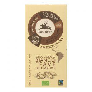 Fair Trade Czekol. biała z kakao 100g BIO