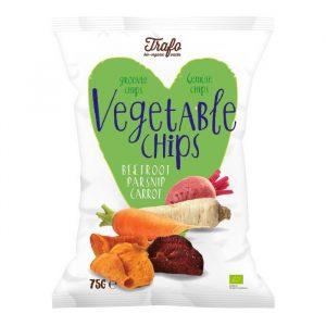 Chipsy Warzywne pieczone bezgl. 75 g BIO