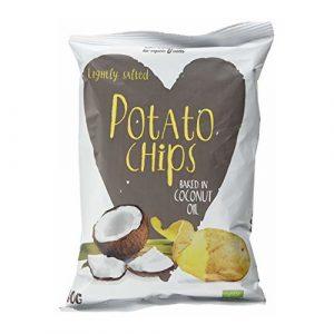 Chipsy Ziemniaczane smaż. na oleju kokos. 125g BIO