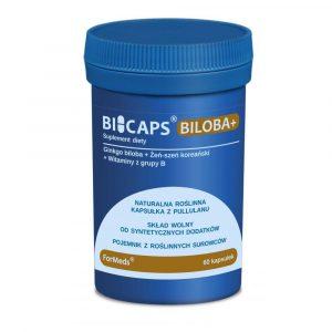 BICAPS Biloba+ 60 kaps
