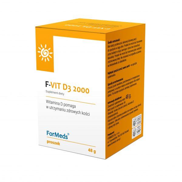 Witamina D3 2000  60 porcji Formeds