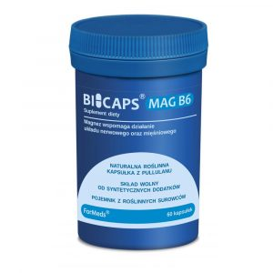 BICAPS Mag B6 60 kaps