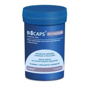 BICAPS Potassium 60 kaps
