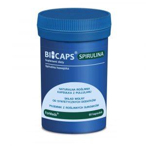 BICAPS Spirulina 60 kaps