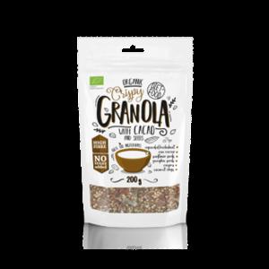 DIET-FOOD Granola z kakao 200g BIO