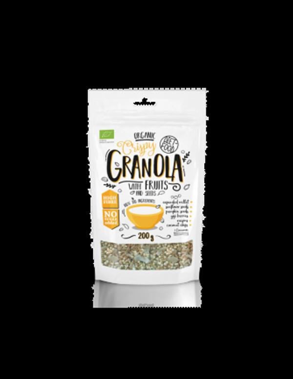 DIET-FOOD Granola owocowa 200g BIO