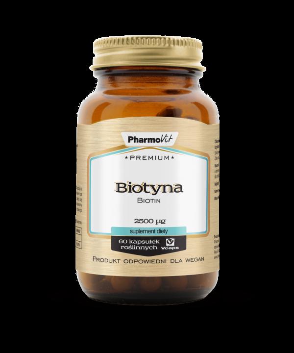 Pharmovit Biotyna 2500mcg 60 kaps Premium
