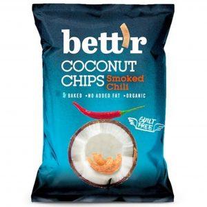 Chipsy z kokosa z chili BIO 40 g
