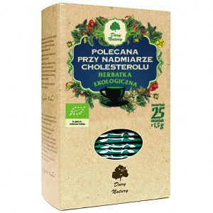 Dary Natury Herbatka polecana przy cholesterolu 25sasz. EKO
