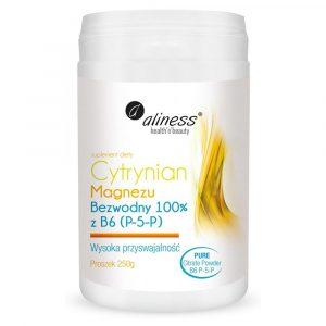 Aliness Cytrynian Magnezu 250g
