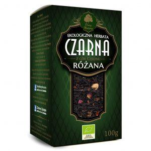 Dary Natury Herbata czarna różana 100g EKO