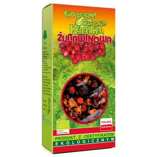 Dary Natury Herbata Żurawinowa 100g EKO