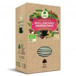 Dary Natury Herbatka Malinowo-imbirowa 25sasz. EKO