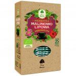 Dary Natury Herbatka Lipowo-malinowa 25sasz. EKO