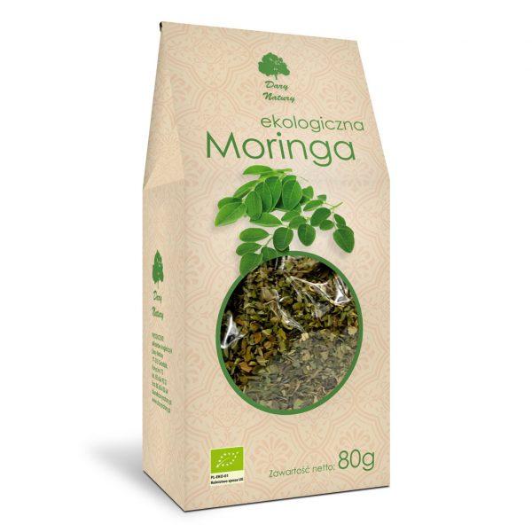 Dary Natury Moringa liść 80g EKO