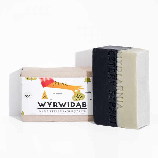 Mydlarnia Wyrwidąb mydło dla mężczyzn 110g