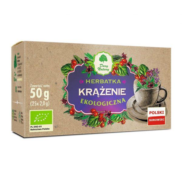 Dary Natury Herbatka na Krążenie 25sasz. EKO
