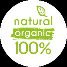Natural organic 100%