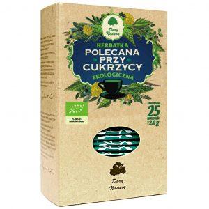Dary Natury Herbatka polecana przy cukrzycy 25sasz. EKO