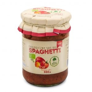 Dary Natury Sos do spaghetti 550g EKO