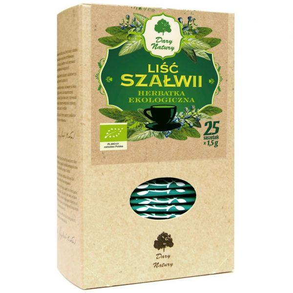Dary Natury Szałwia liść 25sasz. EKO