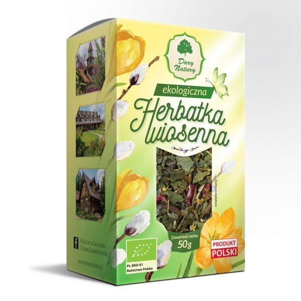 Dary Natury Herbatka Wiosenna 50g EKO