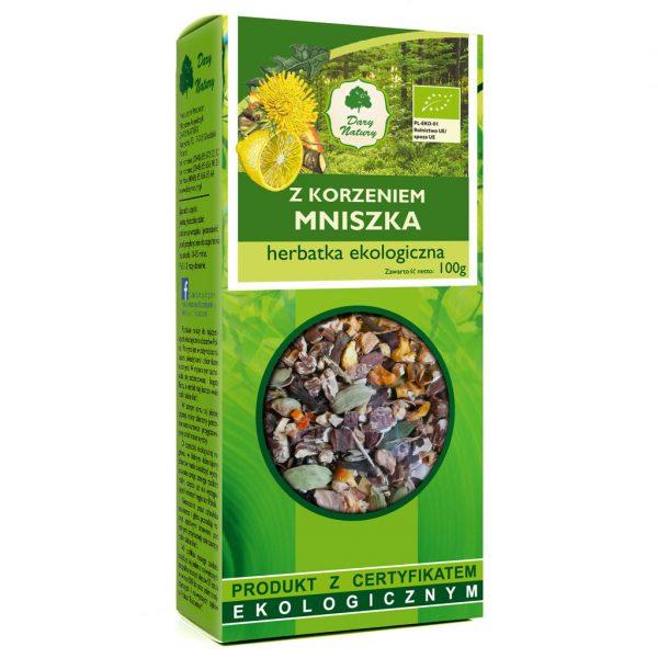 Dary Natury Herbatka z korzeniem mniszka 100g EKO