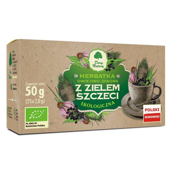 Dary Natury Herbatka z zielem szczeci 25sasz. EKO