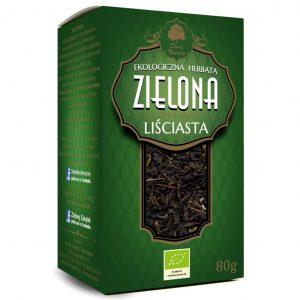 Dary Natury Herbatka zielona liściasta 80g EKO