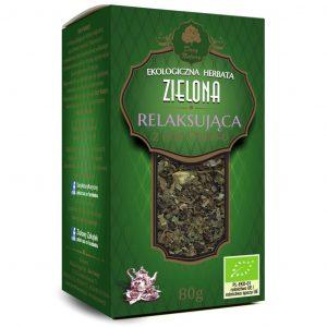Dary Natury Herbatka zielona relaksująca 80g EKO
